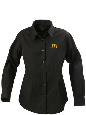 McDonald's skjorta