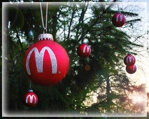 McDonald's Julgranskulor